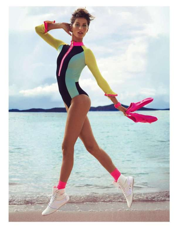 80s-Like Beachwear