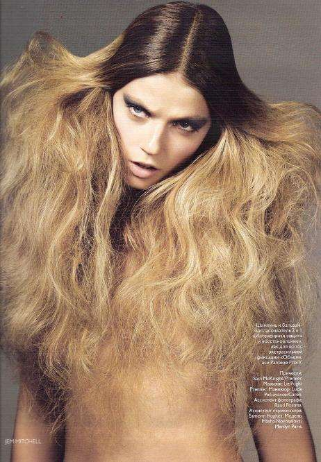 Hair Gone Wild Editorials