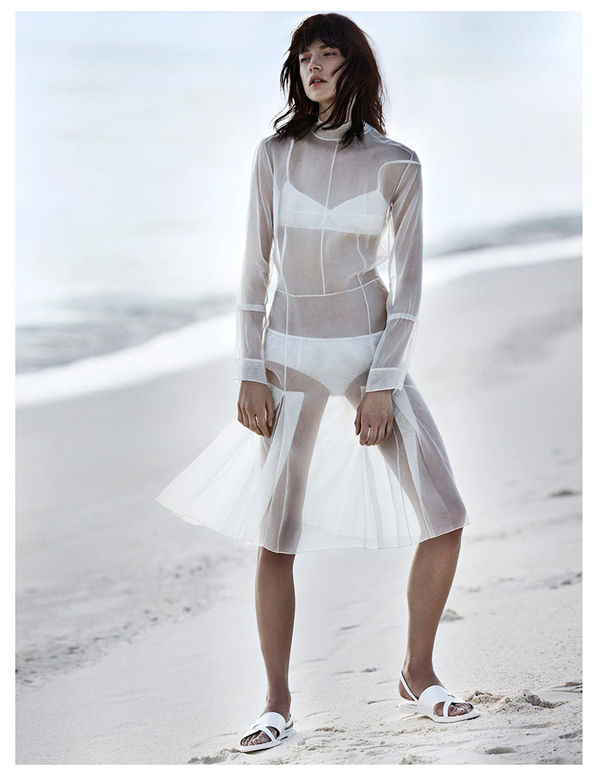 Windswept Whiteout Editorials
