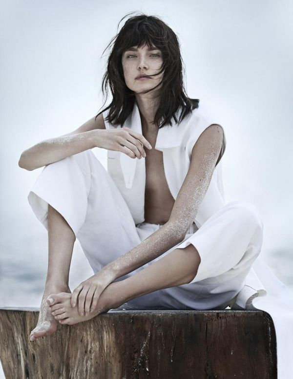 Sandy All-White Editorials