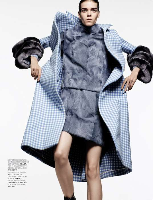 Thrilling Textured Editorials