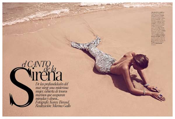 Vogue Spain El Canto De La Sirena