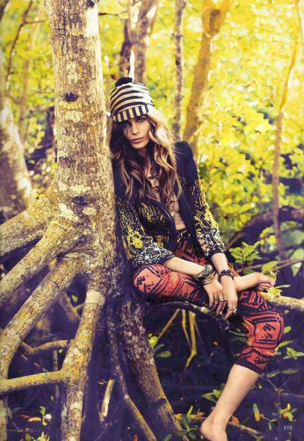 Forest Frolicking Editorials