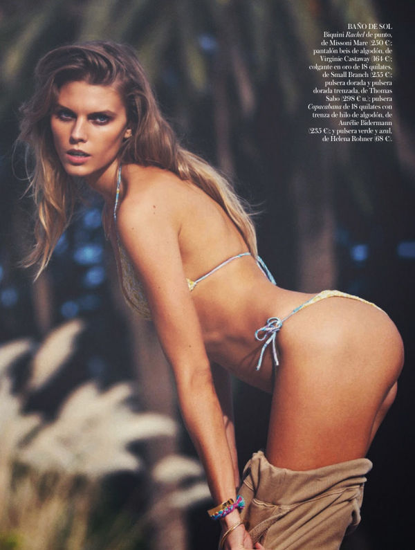 Sultry Poolside Editorials