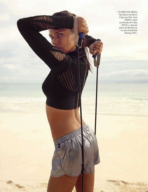 Sultry Beach Workout Editorials