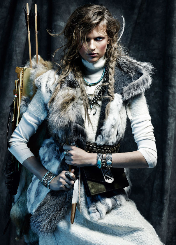 Arctic Warrior Editorials Vogue Spain November