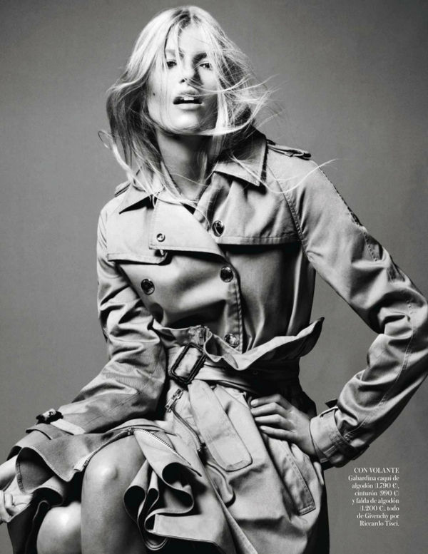 vogue spain trench topic