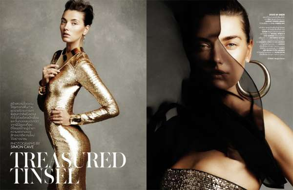 Vogue Thailand 'Treasured Tinsel'