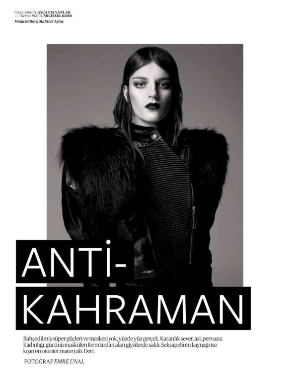 Vogue Turkey 'Anti-Kahraman'