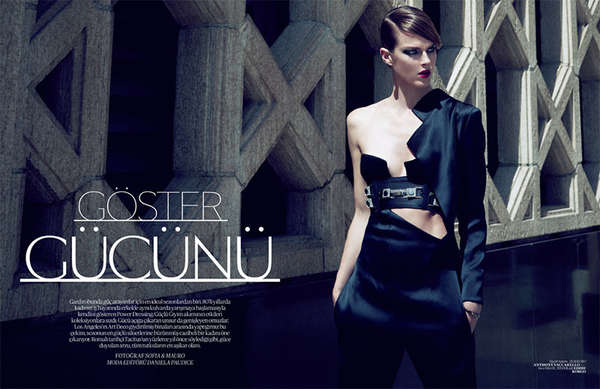 Vogue Turkey 'Goster Gucunu'