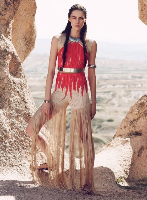 Tribal Princess Editorials