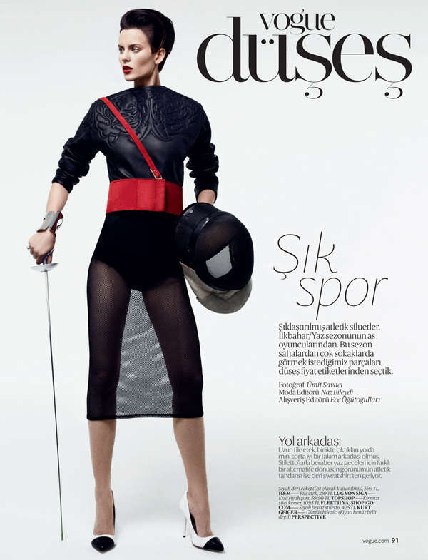 Vogue Turkey 'Sic Spor'