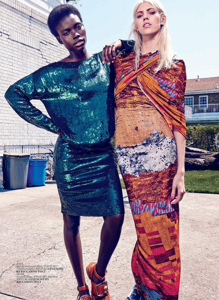 Suburban Couture Editorials