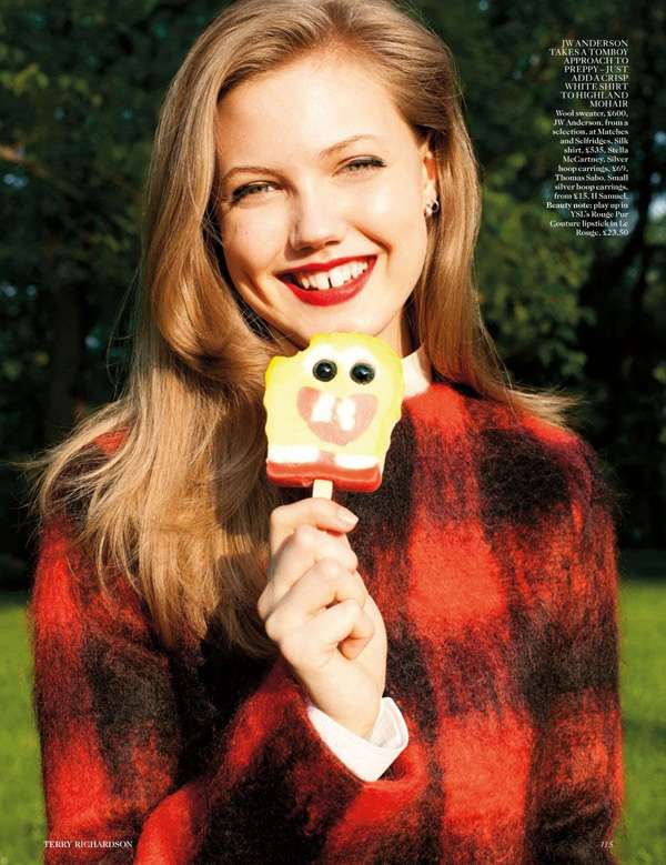 Vogue UK August 2012 