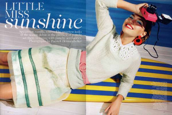 Vogue UK Little Miss Sunshine