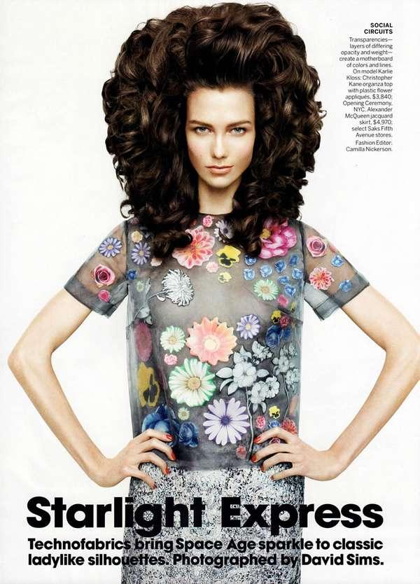 Space Age Hair Editorials