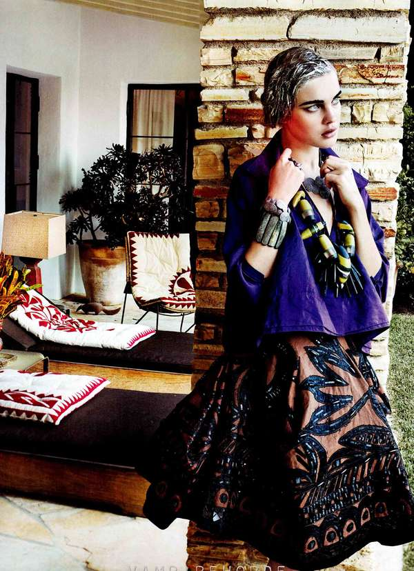 Vogue US March 2012