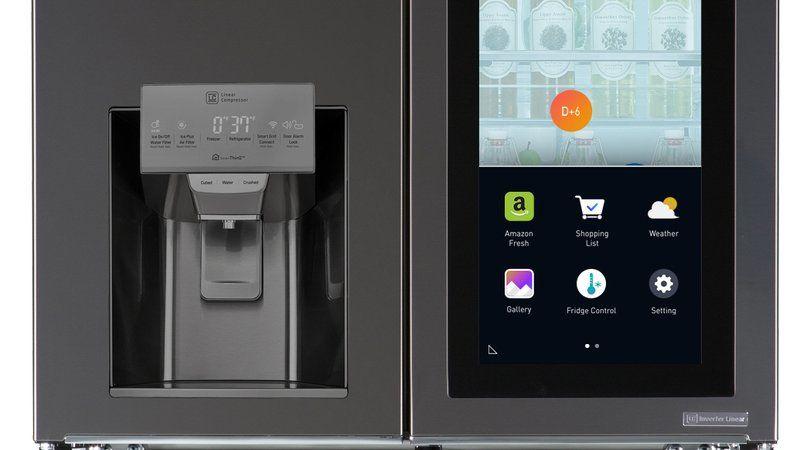 Assistive Smart Fridges