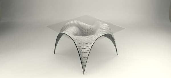 Futuristic Warped Furnishings