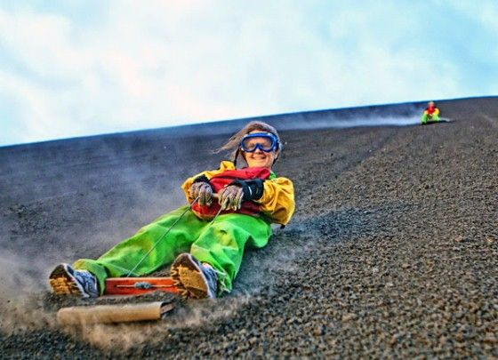 Volcano Boarding Excursions
