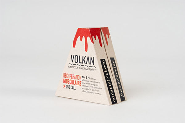 Volcano-Resembling Packages