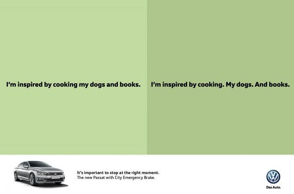 Grammatical Car Ads