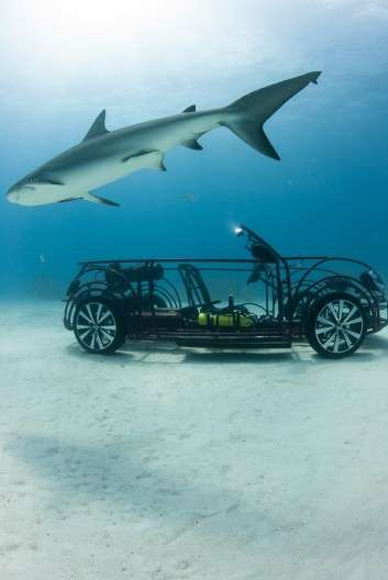 Underwater Shark-Swimming Vehicles