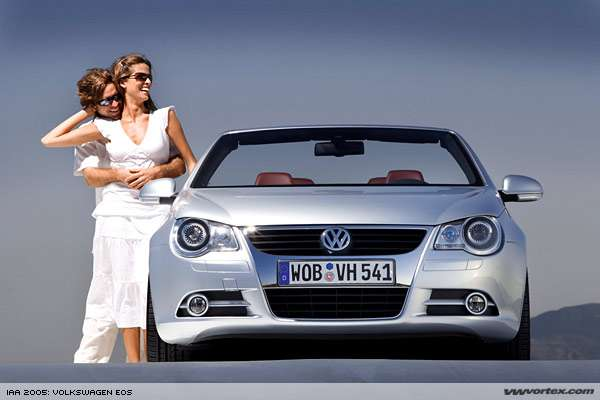 Volkswagen Eos with Retractable Glass Roof
