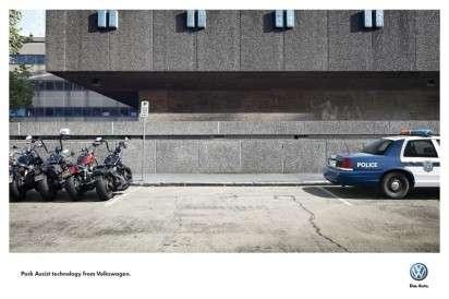 Tight Parking Spot Ads
