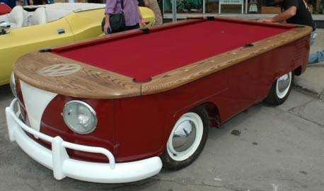 Volkswagon Pool Table