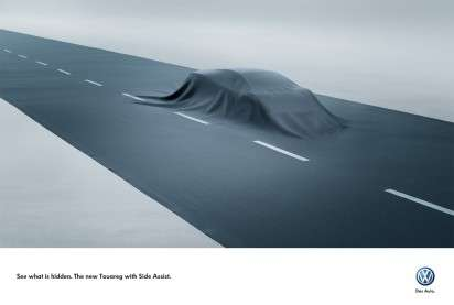 Road-Covered Vehicle Ads