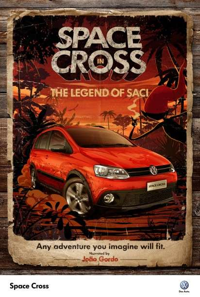 Volkswagen Space Cross campaign