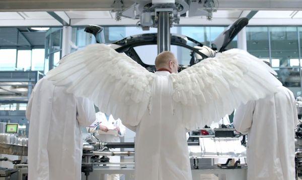 Angel-Inspired Auto Ads