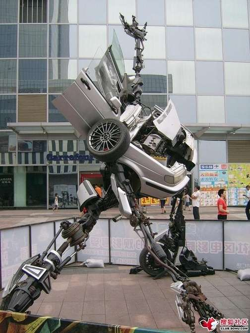 Transformer Tourist Attractions
