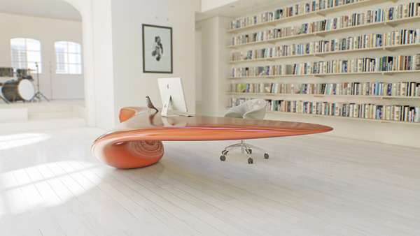 Fluid Cantilevered Furniture