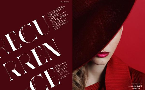 Scarlet Beauty Editorials