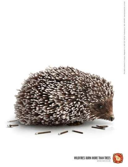 Matchstick Animal Ads