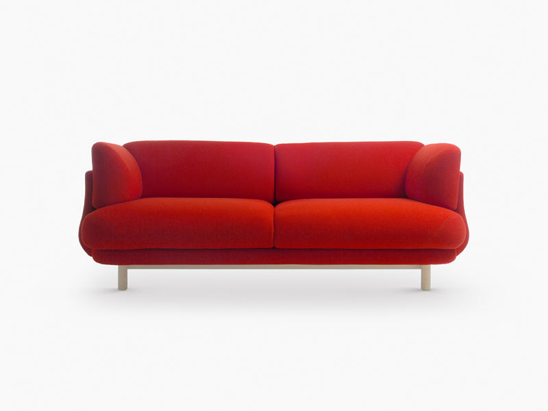Curvaceous Contemporary Couches