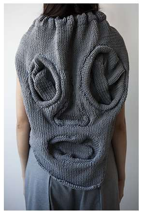 Scary Sweater Faces