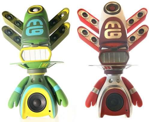Voodoo Doll Speakers