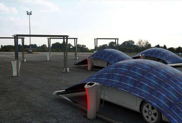 Solar-Powered Car Covers