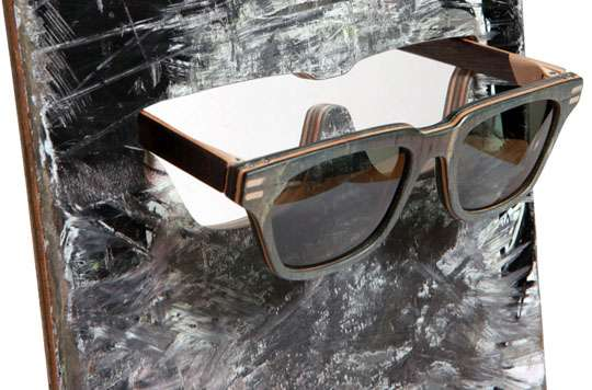 Upcycled Skate Deck Shades