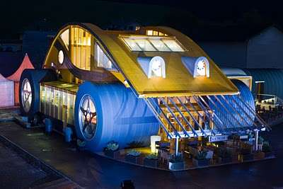 VW Beetle Restaurant House