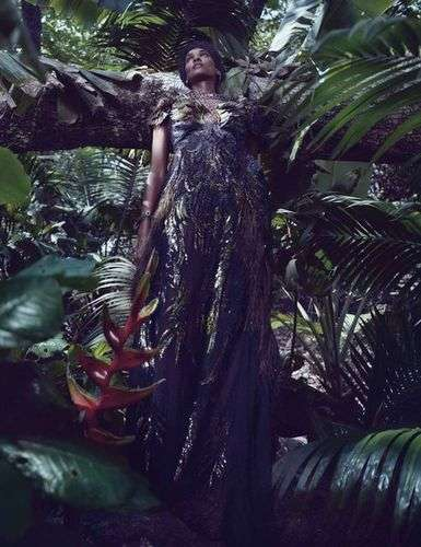Chic Jungle-Themed Shoots