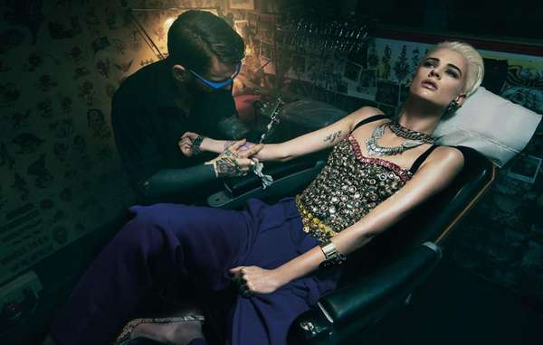 Tattoo Parlor Editorials