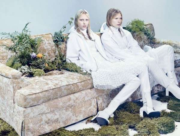W Magazine 'The Whites of Spring'