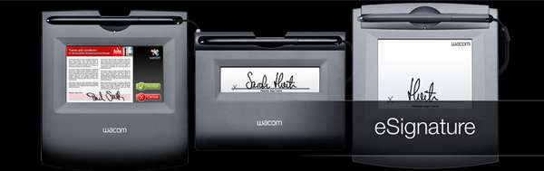 wacom eSignature tablets