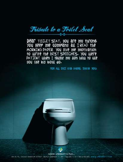 Toilet Tribute Ads