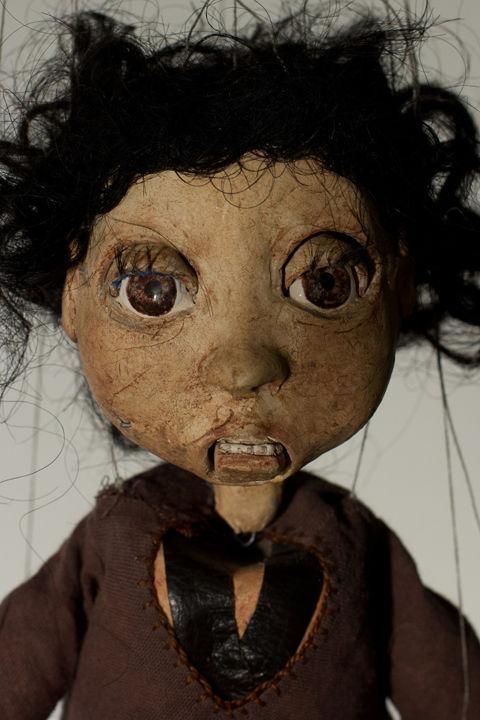 Frightening Marionette Dolls