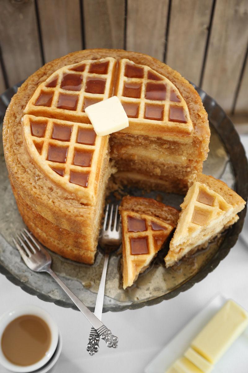 Hybrid Waffle Cakes